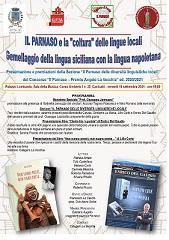 """Canicattì, il Parnaso e la """"coltura"""" delle lingue locali: gemellaggio tra la lingua siciliana con quella napoletana"""
