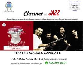 Primavera delle Arti: Clarinet in Jazz