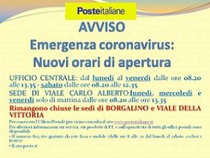 Orari apertura uffici Poste Italiane