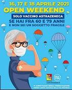 Open Day vaccini anticovid - Canicattì dal 16 al 18 aprile 2021