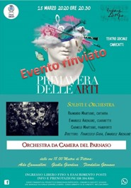 Primavera delle Arti: Orchestra da Camera del Parnaso