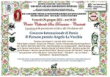 VI Edizione Concorso internazionale di poesia Il Parnaso premio Angelo La Vecchia