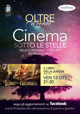 13/09/2019 Cinema Sotto Le Stelle - Villa Comunale