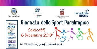 Locandina Giornata dello Sport Paralimpico