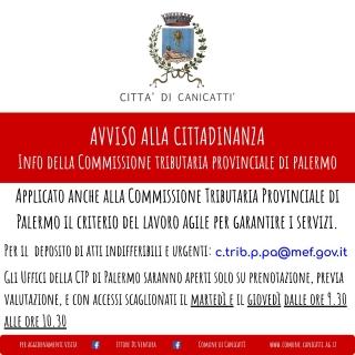 Info commissione tributaria palermo