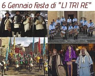 """Festa di """"LI TRI RE"""" 150° anniversario"""