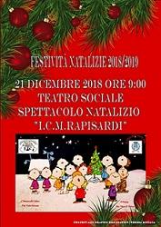 Spettacolo Natalizio I.C. M. Rapisardi
