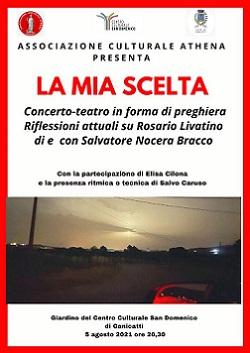 """Concerto-Teatro """"La mia scelta"""""""