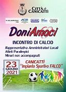 """Sport e Integrazione, a Canicattì tutto pronto per """"DoniAmoci"""""""