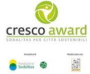 """Riconoscimento Premio """"CRESCO AWARD Città Sostenibili"""" anno 2020"""