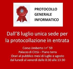PROTOCOLLO GENERALE INFORMATICO (3.57 KB)
