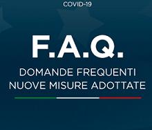 F.A.Q. Domande Frequenti - Nuove Misure Adottate