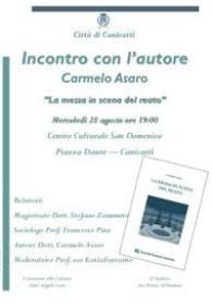 Incontro con l'autore Carmelo Asaro