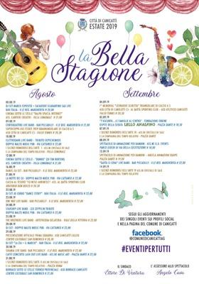 Manifesto La Bella Stagione 2019
