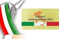 Elezioni Amministrative 10 -11 ottobre 2021
