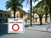 Istituzione zona ZTL (Zona Traffico Limitato) in piazza Dante