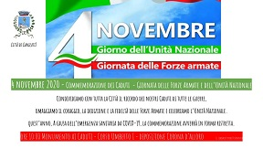 Commemorazioni del 4 Novembre 2020