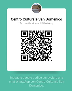Avviso Attivazione Whatsapp Centro Culturale San Domenico