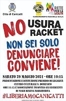 #LiberiamoCanicattì. No Usura No Racket