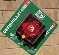 25 ottobre 2019: installazione defibrillatore