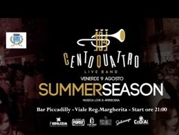Concerto SUMMERSEASON - Centoquattro live band