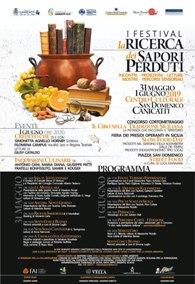 I^ Festival La Ricerca dei Sapori Perduti