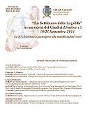Settimana della Legalit� dal 19 al 25 settembre 2014 (359.83 KB)