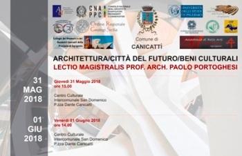 Lectio Magistralis Arch. Paolo Portoghesi - Canicattì 31 maggio e 1 giugno 2018