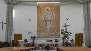 Mosaico raffigurante Gesù