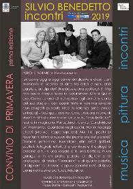 Convivio di Primavera I° Edizione - Perchè insieme: Incontro con Silvio Benedetto