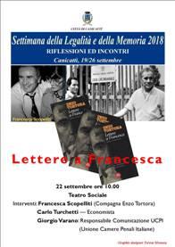 Lettere a Francesca - Francesca Scopelliti