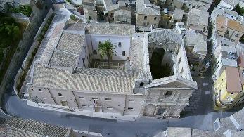 Ex Convento delle Benedettine CanossianeVista dall'alto