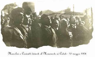 Mussolini a Canicattì
