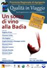 Un Sorso di vino alla Badia