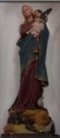 statua Madonna con il Bambino