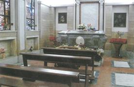 Tomba di Padre Gioacchino La Lomia oggi