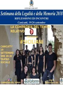 La Compagnia del Tempo Relativo: #Siciliani