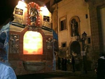 Carro Vincitore della XIV° Edizione del Carnevale Canicattinese- Retro