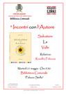 """locandina """"Incontro con l'Autore"""" - Salvatore La Valle"""