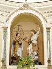 gruppo scultoreo Annunciazione