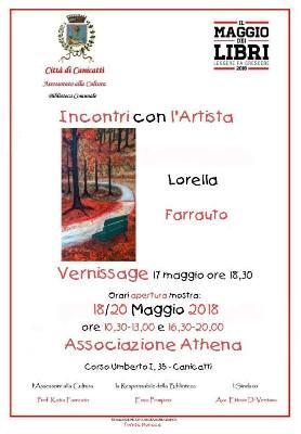 Incontro con l'artista Lorella Farrauto