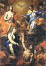 S.S. Trinità con anime del Purgatorio