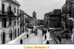 Vecchia foto del Corso Umberto I°