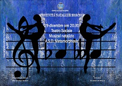 Musical natalizio - A.S.D. Metamorphosis