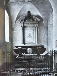Tomba di Padre Gioacchino La Lomia ieri