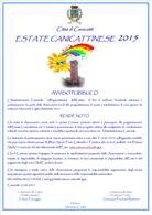 locandina Idee-Progetto Estate Canicattinese 2015